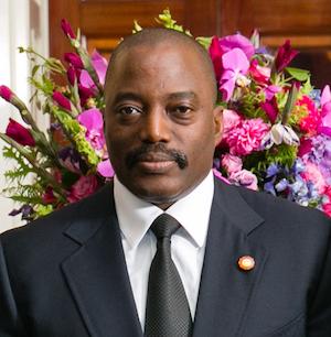 Joseph Kabila ist seit dem Tod seines Vaters 2001 im Amt (Quelle: Amanda Lucidon / White House)