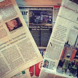 Ein Todes-LKW im Museum: Wie die DPA sich eine Nachricht strickt