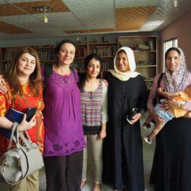 Hilfe für Frauen in Kriegsgebieten