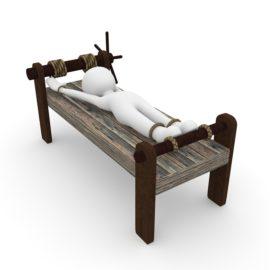 Beim Bett des Prokrustes