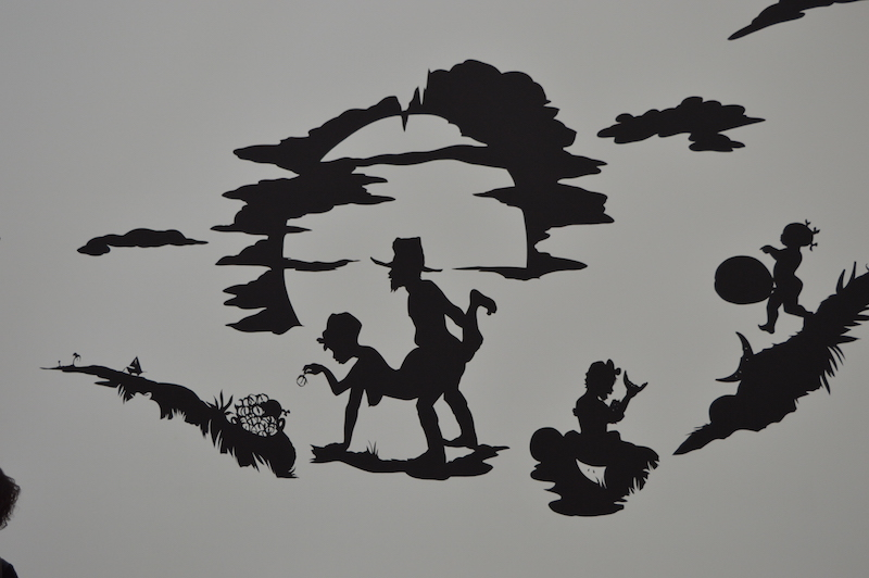 """Detail aus """"African't"""" (1996) von Kara Walker – Til Biermann"""