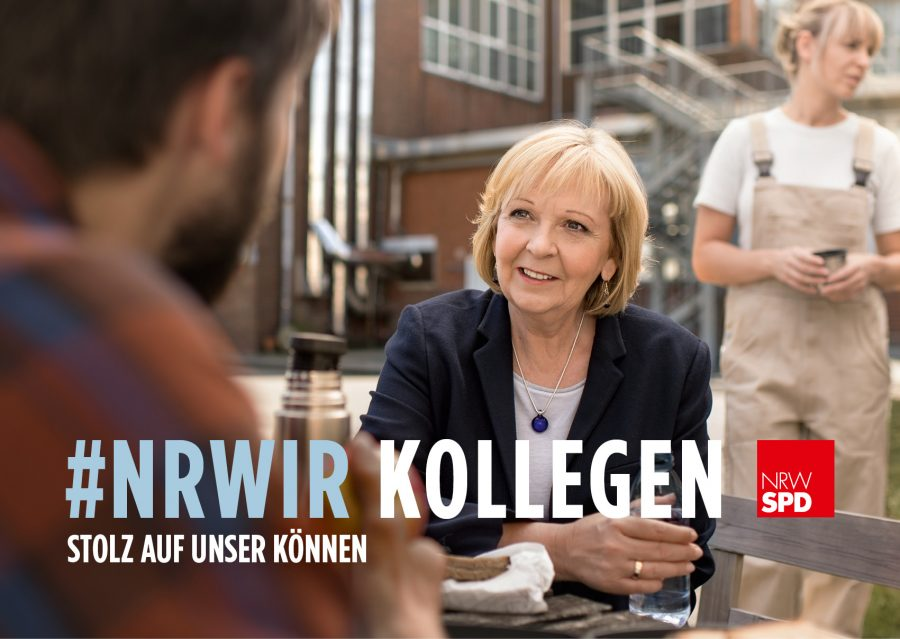 SPD-Wahlkampfplakat