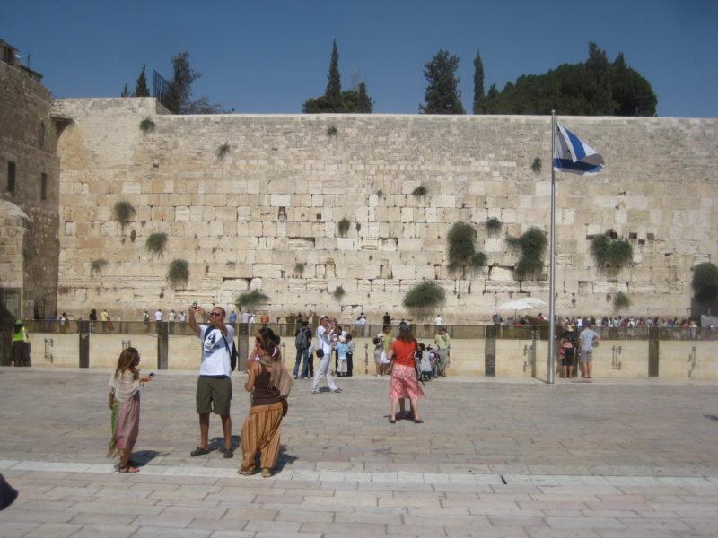 Klagen um die Mauer und den Felsendom