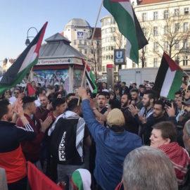 Geraubte palästinensische Datteln