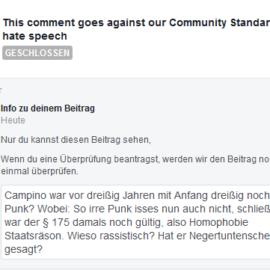 Unsäglich viel Unsagbares bei Facebook