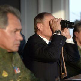 Moskau sieht sich im Krieg mit dem Westen